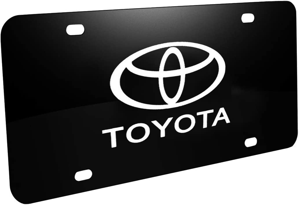Goodcover 3D Heavy Stainless Steel License Plate Cover for Lexus,Lexus Tag Plate License Plate Frame