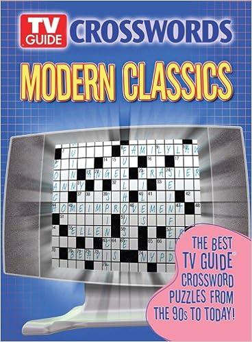 TV Guide Crosswords Modern Classics: The Best TV Guide