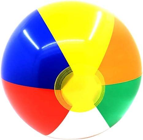 Juego de 4 bolas de PVC para playa, clásicas, de colores del arco ...