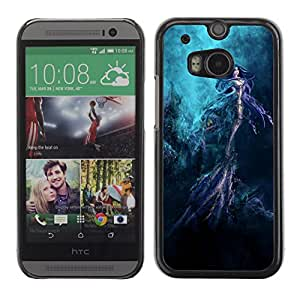 Hot Style Cell Phone PC Hard Case Cover // M00100798 art water underwater // HTC One M8