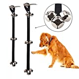 COMIART Dog Doorbells Premium Quality Training Potty 7 Pack Great Dog Bells Adjustable Door Bell Dog Bells for Potty Training Your Puppy The Way - Premium Quality - 5 Extra Large Loud 1.4