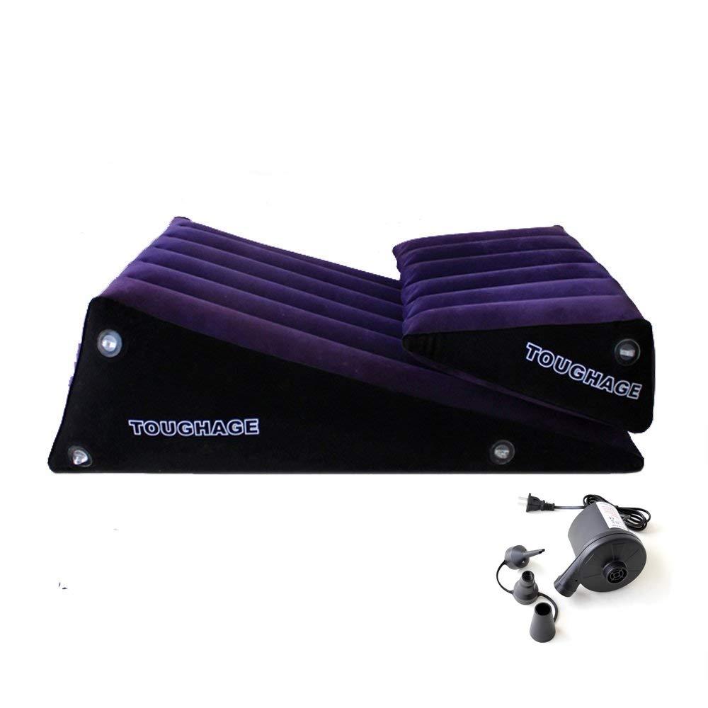 Cuscino gonfiabile magico del cuscino del rondone del cuscino gonfiabile magico Cuscino di rilassamento Mobilia impermeabile per le donne degli uomini Unisex con la pompa di aria elettrica