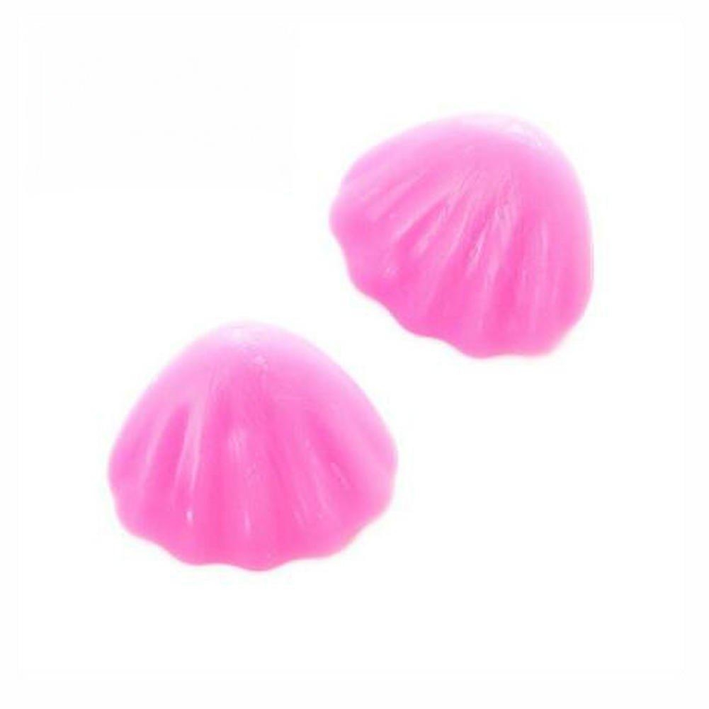 Hosaire Luminous Tischeckenschützer Schreibtisch Eckenschutz Edge-Sicherheitsabdeckung Baby-Silikon-Schutz, Rosa 2 Stück Rosa 2 Stück