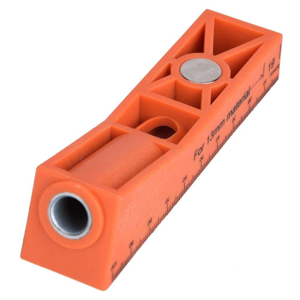 Pocket Hole Jig Kit Holzbearbeitung Schr/ägloch-Positionierungs-Bohrer-F/ührungssatz f/ür Holz Gro/ßer Schr/ägloch-Positionierungssatz ohne Grat