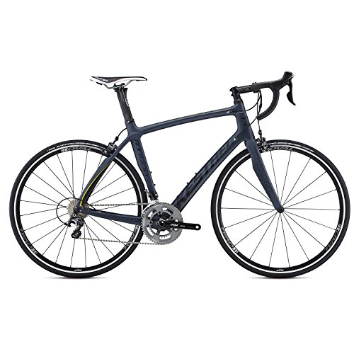 Kestrel RT-1000 Shimano Ultegra Bicycle, Satin Blue Gray/Yellow, 47cm/X-Small