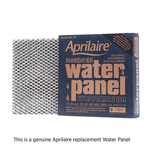 Aprilaire 10 Water Panel Single Pack for Humidifier Models 110, 220, 500, 550, - Cara Model Steel
