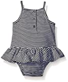 Calvin Klein Baby Girls' Stripe Jersey Sunsuit
