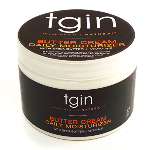 tgin Butter Cream Daily Moisturizer for Natural Hair, 12oz