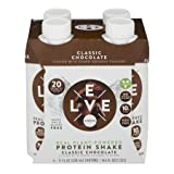 Evolve Real Plant-Powered Protein Shake - Classic Chocolate (Pack of 8)