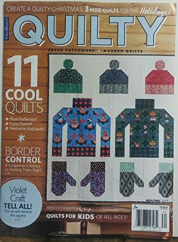 Fons & Porters Quilty Nov Dec 2017 11 Cool Quilts(afamncg - Porter Cool