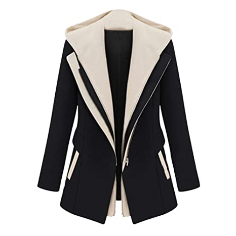 Amazon.com: Women OL Style Long Sleeve Removable Blazer ...