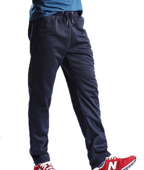 Huateng Pantalones Deportivos para Hombre Pantalones de chándal ...