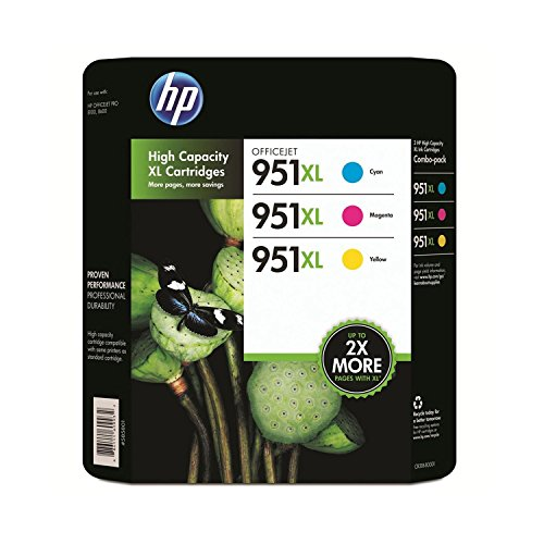 HP 951XL Color Ink Cartridge