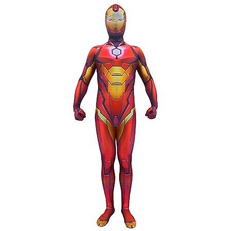 QQWE Traje de Cosplay de Iron Man The Avengers 4 niños Héroe ...