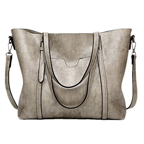 Shoulder Light Women'S Grey Tote Bag Fashion Bag Bag Bag Messenger Tote zxXpq1