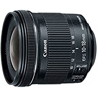 Canon EF-S 10-18mm f/4.5-5.6 IS STM 33rd Street Lens Bundle for Canon DSLR Cameras