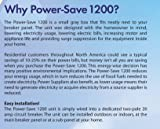POWER-SAVE PS1200 RESIDENTIAL