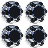 OxGord CC-05128-CH Chrome Center Caps Set of 4