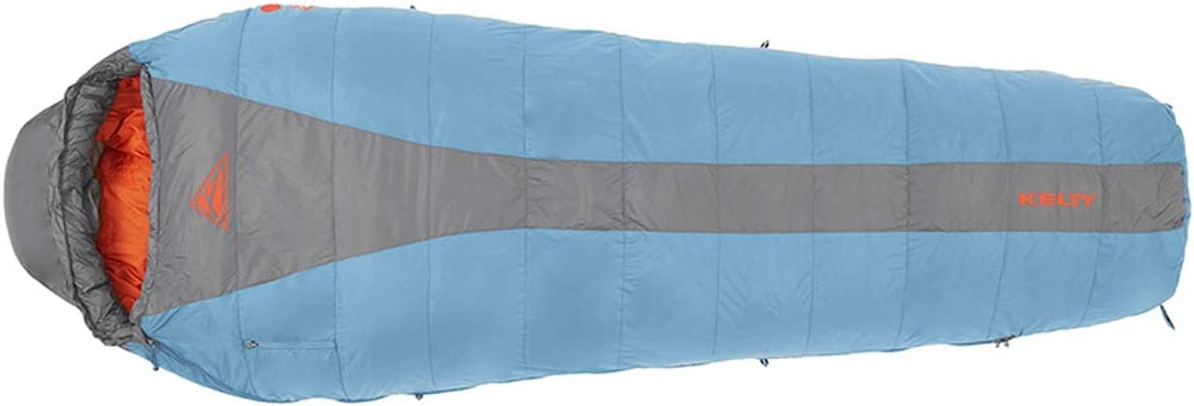 Kelty Cosmic 20 Degree Down Sleeping Bag – Ultralight Backpacking Camping Sleeping Bag with Stuff Sack
