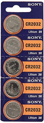 CR2032 Battery Lithium Coin Batteries (Pack of 15) by Sony - Sony Lithium Cell Coin