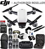 DJI Spark Portable Mini Drone Quadcopter (Alpine White) + DJI Spark Remote Controller Ultimate Bundle Review