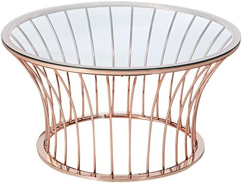 247SHOPATHOME coffee-tables, Rose Gold