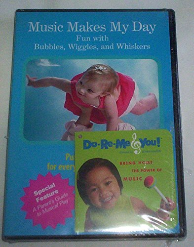 Music Makes My Day DVD - Fun with Bubbles, Wiggles & Whiskers