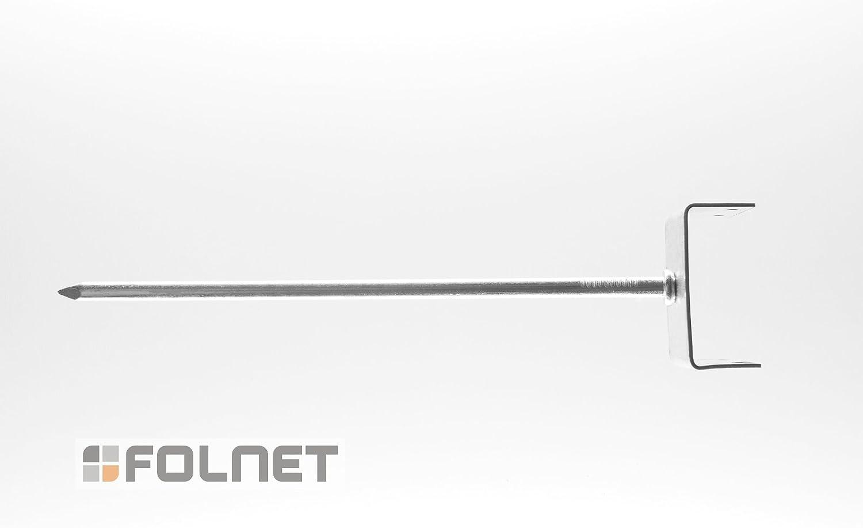 10x Firstnagel Firstlattennagel Gratnagel Gratlattennagel Firstalattenhalter 7 Gro/ßen 50 mm x 230 mm