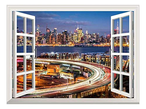 Removable Wall Sticker Wall Mural City Traffic Lights At