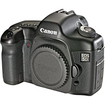 Canon Eos 5d 12 8 Mp Digital Slr Camera Body Only