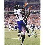 710ba9142 Autographed John Brown Jersey - FRAMED 33x42 Color Rush COA - JSA ...