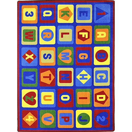 Joy-Carpets-Kid-Essentials-Early-Childhood-Lots-to-Learn-Rug-Multicolored-78-x-109