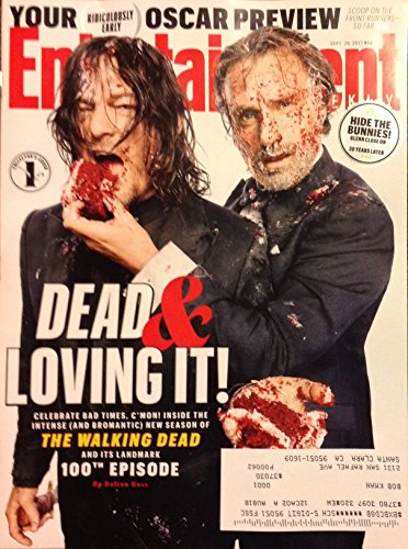 Entertainment Weekly Magazine (September 29, 2017) The Walking Dead 100th Episode - Darryl & Rick Cover 1 of 3