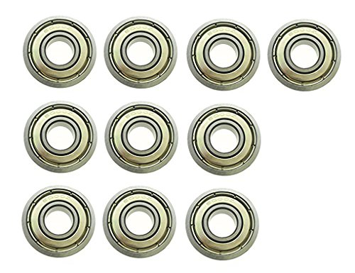 (YXQ 6000Z Sealed Deep Groove Radial Ball Bearings,10mm Bore, 26mm OD, 8mm Width, 10-Piece)