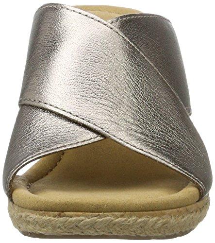 con Cuña Mutarokorkfl Comfort Mujer Shoes Marrón Gabor para Jute Sandalias vHxTqO