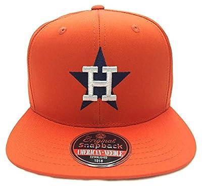 Houston Astros NEW American Needle Outfield Snapback Cap Hat Orange