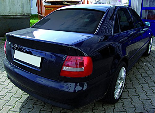 Euro Roof Extension Rear Window Cover Spoiler Wing Trim ABS For Audi A4 S4 RS4 B5 (Rear Extension Skirt)