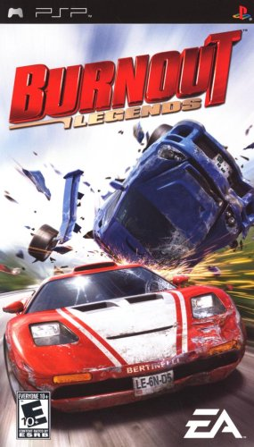 Burnout Legends - Sony PSP (Psp Racing Games With Best Graphics)