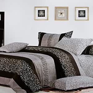 Blancho Bedding - [Charming Garret] Luxury 4PC Comforter Set Combo 300GSM (Twin Size)