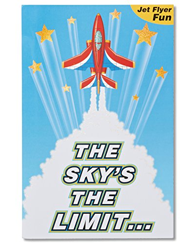 American Greetings Paper Airplane Birthday Card for Boy with Foil