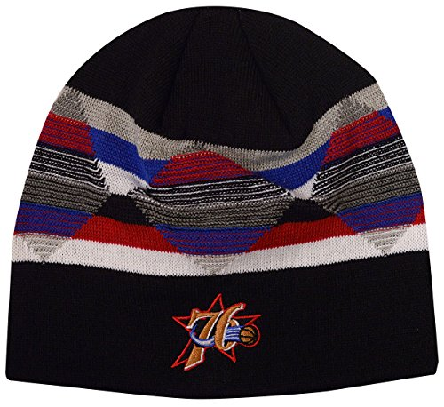 Philadelphia 76ers Mitchell & Ness Diamond Inlay Beanie Knit Hat