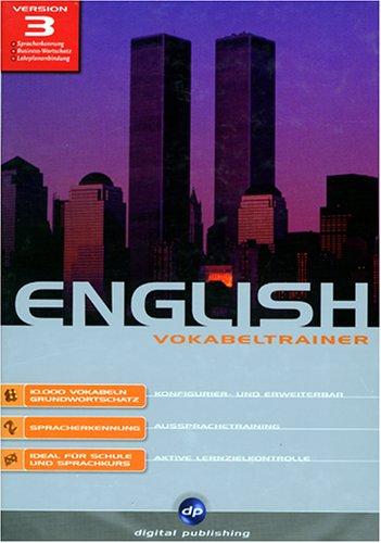 English, Version 3, CD-ROMs, Vokabeltrainer, 1 CD-ROM