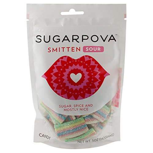 Smitten Sour Rainbow Gummies 5oz