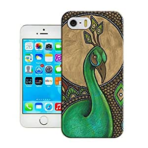 LarryToliver Design Customizable Peacock and Phoenix iphone 5/5s Cases Back Case Snap On