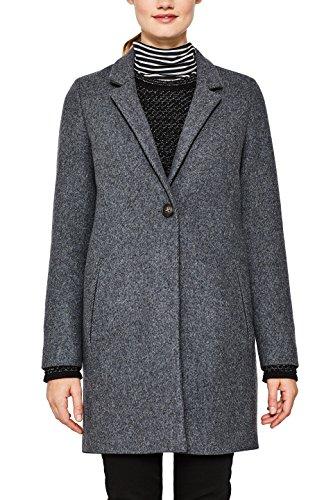 039 Gris para Abrigo ESPRIT Medium Collection Grey 5 Mujer npOx8Hx4