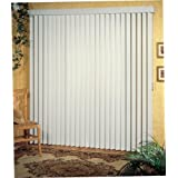 Achim Home Furnishings 40 by 64-Inch Vertical Blinds, Alabaster