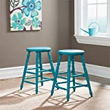 Sauder 415846 Blue Finish Cottage Road Counter Height Stool (2 Pack)