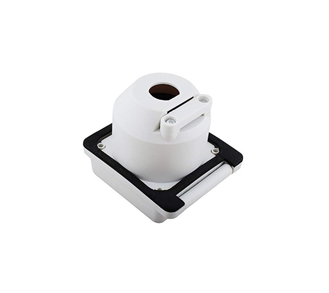 Swess 30A RV Power Inlet Receptacle 125V Marine Shore Twist Lock Power Inlet for Camper RV