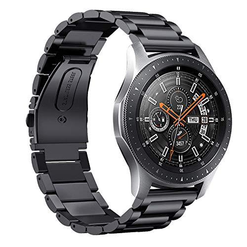 KuGi. Samsung Galaxy Watch Band, Pulsera de Acero Inoxidable ...