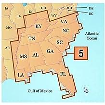 Garmin MapSource U.S. Inland Lakes Southeast Map Freshwater Map microSD Card